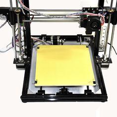 (329.00$)  Watch here  - HICTOP Black Aluminum frame 3d printer prusa i3 3dp-11 reprap prusa i3 DIY desktop 3d printing machine set