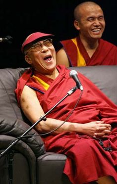 'As soon as you have made a thought, laugh at it.' - Lao Tzu. Image of the Dalai Lama by Kazuhiro Nogi/AFP/Getty Images, theguardian.co.uk #Photography #Dalai_Lama