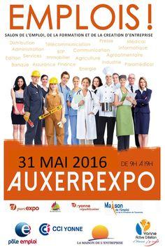 Salon de l'Emploi Mardi 31 mai 2016