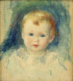 Pierre-Auguste Renoir - A.Renoir, Kinderbildnis