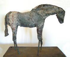 LOVE, LOVE LOVE, Deborah Butterfield's  horse sculptures