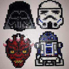 Star Wars hama perler beads by dragoneyes00