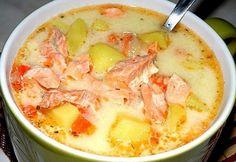 Gallery.ru / . Финский суп с лососем и сливками - Супы - north-west