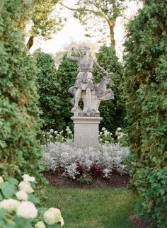 the gardens are beautiful for a wedding at the Villa Terrace, an italian villa where Destination wedding photographer, lexia frank, loves to shoot film for weddings