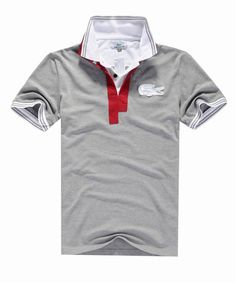 polo ralph lauren outlet online Lacoste Short Sleeve Oversized Crocodile Pique Polo Shirt Grey http: