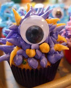 monster cupcake idea 1