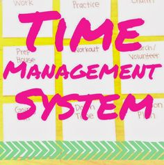 Time Management System - Organized Charm