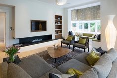 20 Contemporary Unsymmetrical Living Rooms | Home Design Lover