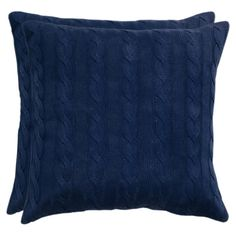 Vail Pillow in Navy