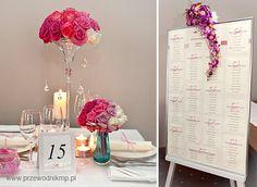 Dekoracje ślubne wykonane przez kwiciarnię Glorioza