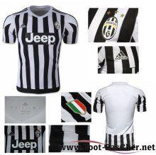 Maillot Du Juventus Noir/Blanc Domicile 15 2016 2017 Pas Chere