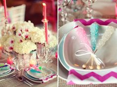 perfect for a little girl's tea party... or hell, even my tea party