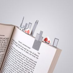 Tiny Paper Bookmarks Let You Grow Charming Miniature Worlds In Your Books | Bored Panda