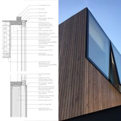 Gallery of Virginia House / 2712 / asociados - 19 Detail Architecture, Minimalist Architecture, Concept Architecture, Interior Architecture, Windows Architecture, Facade Design, Roof Design, Window Design, Exterior Design