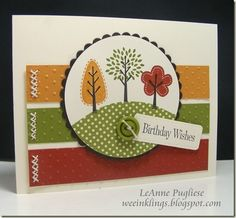 Cute Handmade Cards | Found on weeinklings.blogspot.com