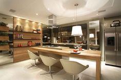 cozinhas com ilha modernas - Pesquisa Google