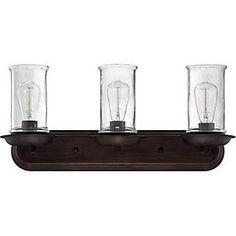 Craftmade 36103-ABZ Thornton Bathroom Vanity Lights Aged Bronze