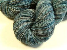 Hand Dyed Yarn  Sock Weight Superwash Merino by BlackSheepDyeworks