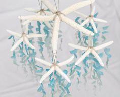 Sea Glass & Starfish Mobile Colossal Ombre by TheRubbishRevival