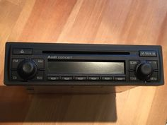 Audi a2 a6 s6 tt allroad #concert stereo #radio cd #player head unit 8z0 035 186d,  View more on the LINK: http://www.zeppy.io/product/gb/2/332076620744/