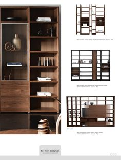 Bo Concept - Wall design with sliding doors