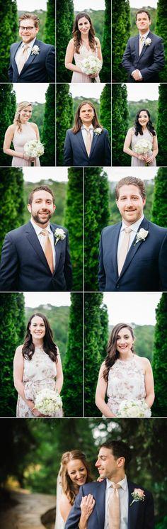 Bridal Party cloverdale outdoor vineyard destination wedding  Myke + Teri Photography