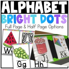 Alphabet Posters {Bright Dots} by True Life I'm a Teacher Primary Classroom, Classroom Ideas, Alphabet Posters, Classroom Organization, Organizing, Color Pop, Card Stock, Dots, Teacher