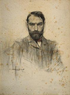 Drawing by Ramon Casas