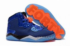 "best service d4eb9 fadef Discover the New Jordan Air Spike 40 Forty PE ""Game Royal"" Game Royal Total  Orange-White-Black Top Deals collection at Yeezyboost. Shop New Jordan Air  Spike ..."