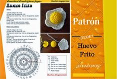huevo+frito+de+crochet+patron+y+tutorial.jpg (591×397)