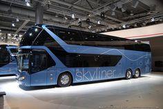 Neoplan Skyliner en IAA 2014 Hannover by Galeria de Fan Bus, difusión y prensa on Flickr. Neoplan Skyliner en IAA 2014 Hannover