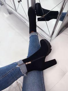 Women Boots Thigh High Wedge Boots Mens High Lace Up Boots Knee Boots – licheetal Wedge Boots, High Heel Boots, Heeled Boots, Shoe Boots, Shoes Heels, Black Heel Boots, Platform Ankle Boots, Shoes Men, Strap Heels