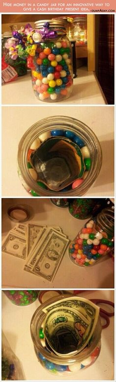 Cool way to hide money. Especially as a gift.
