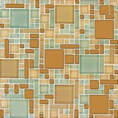 MS International Mocha Cream Magic Pattern 12 in. x 12 in. x 8 mm Glass Mesh-Mounted Mosaic Tile-THDWG-CR-MCMP-8 at The Home Depot