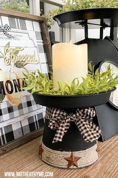 Dollar Tree Candle Holders, Dollar Tree Candles, Dollar Tree Fall, Dollar Tree Decor, Dollar Tree Crafts, Clay Pot Crafts, Diy Home Crafts, Fall Crafts, Christmas Decorations