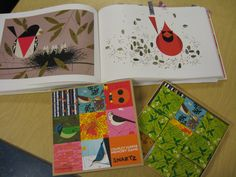 The Elementary Art Room!: Charley Harper Cardinals