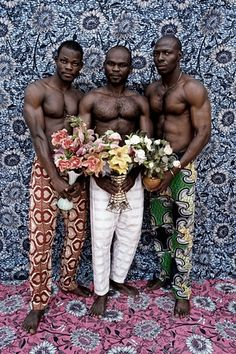 Untitled (Musclemen series), 2012 Photograph: Leonce Raphael Agbodjélou