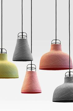 Pendant #lamp SARN by Specimen Editions | design Decha Archjananun, Thinkk Studio