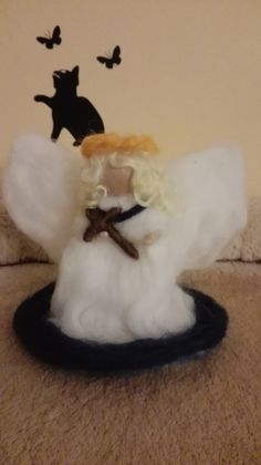 Angel from wool