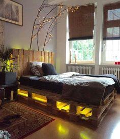 15 waanzinnige bed designs gemaakt van pallets! Dit moet je zien! Prachtig! - Zelfmaak ideetjes