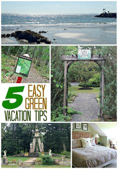 When I go on vacation, it's easy to get out of my routine. I'm in a different place, doing different things with different people. It takes extra effort to continue with healthy, eco-friendly habits when I'm not at home. On my recent trip to Maine to visit Tom's Of Maine, I followed these easy green vacation tips to help me continue with my regular routines. ad #GoodnessCircle   Check out my tips