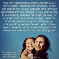 with Disorder ( have trouble regulating their which can lead to the severe outbursts and associated with the disorder. If your child is able to his or her for a longer than usual period of time, celebrate those