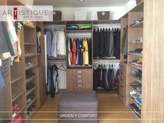 Compartimos Foto de un Closet que instalamos al poniente de la Ciudad de México. Creamos espacios confortables y ordenados para nuestros clientes...!