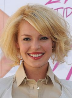 candle hair cut | Katherine Heigl's New Haircut and Color