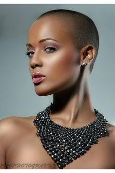 Bald beauty