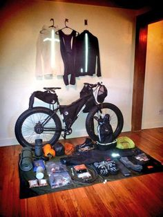 I want to meet this guy!>> How to pack for a 3-week self-supported bike trip along Iceland coast.