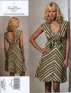 Vogue V1158 Misses Sundress Dress Pattern Tracy by CynicalGirl