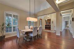 Wood floors, unique lighting and tall ceilings 3700 Kenora Ct, Austin, TX 78738