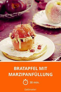 Bratapfel mit Marzipanfüllung - smarter - Zeit: 30 Min.   eatsmarter.de