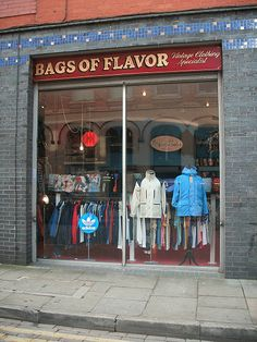 BAGS OF FLAVOR 33 Tib St, Manchester M41LX Lovely recycled tweed bags